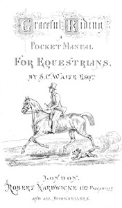 Cover of the book Graceful Riding by S. C. Waite