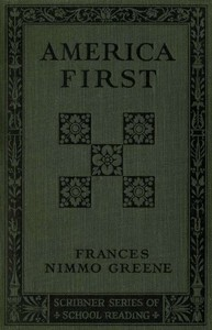 Cover of the book America First by Frances Nimmo Greene