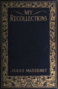 Cover of the book My Recollections by Jules Massenet