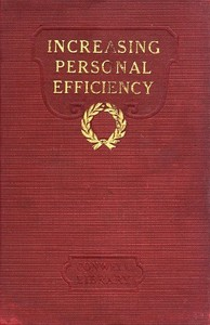 Cover of the book Increasing Personal Efficiency by Russell H. Conwell