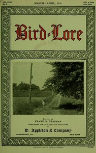 cover for book Bird-Lore, March-April 1916