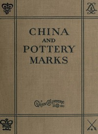 Cover of the book China and Pottery Marks by Unknown