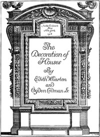 Cover of the book The Decoration of Houses by Ogden Codman