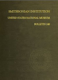 Cover of the book Smithsonian Institution - United States National Museum - Bulletin 240 by Anonymous
