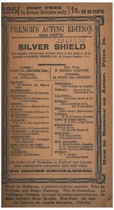 cover for book The Silver Shield: An Original Comedy in Three Acts