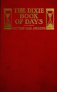 cover for book The Dixie Book of Days