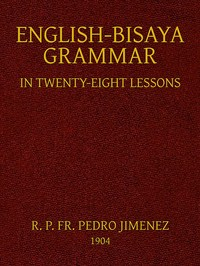 Cover of the book English-Bisaya Grammar by Various