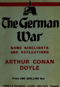 Cover of the book The German War by Arthur Conan Doyle