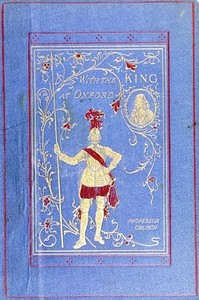 Cover of the book With the King at Oxford by Alfred John Church