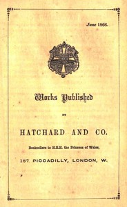Cover of the book Works Published by Hatchard and Co. June 1866 by Hatchard and Co.
