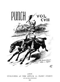 Cover of the book Punch, or the London Charivari, January 5th, 1895 by Various