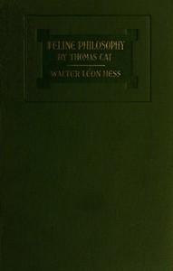 cover for book Feline Philosophy