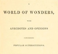 Cover of the book A World of Wonders by Various