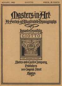 Cover of the book Masters in Art, Part 32, v. 3, August, 1902: Giotto by Anonymous