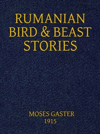 Cover of the book Rumanian Bird and Beast Stories by Anonymous
