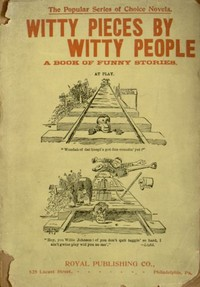 Cover of the book Witty Pieces by Witty People by Various