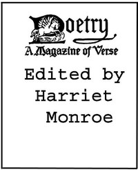 Cover of the book Poetry: A Magazine of Verse, Volume I by Various
