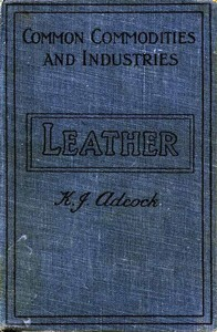 Cover of the book Leather by K. J. Adcock