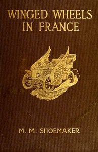 Cover of the book Winged wheels in France by Michael Myers Shoemaker