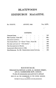 Cover of the book Blackwood's Edinburgh Magazine, Vol. 66 No.406, August 1849 by Various