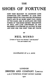 Cover of the book The Shoes of Fortune by Neil Munro