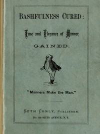 Cover of the book Bashfulness Cured by Anonymous