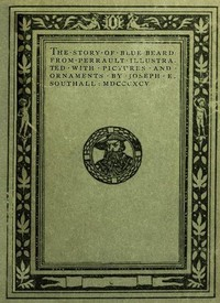 Cover of the book The Story of Blue-Beard by Charles Perrault