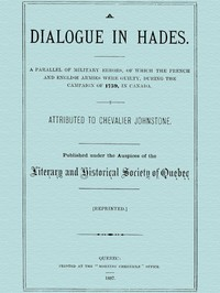 Cover of the book A Dialogue in Hades by James Johnstone Johnstone