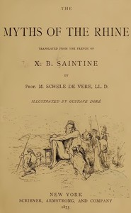 Cover of the book Myths of the Rhine by M. Xavier