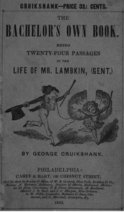 Cover of the book The Bachelor's Own Book by George Cruikshank