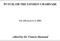 Cover of the book Punch, or the London Charivari, Vol. 109, August 3, 1895 by Various