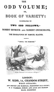 Cover of the book Odd Volume by Various