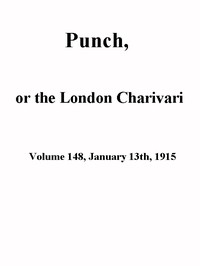 Cover of the book Punch, or the London Charivari, Volume 148, January 13th 1915 by Various