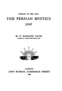Cover of the book Jámí by F. Hadland (Frederick Hadland) Davis