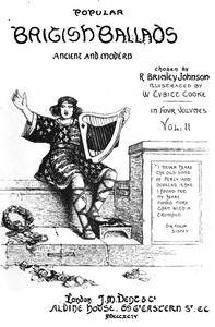 Cover of the book Popular British Ballads, Ancient and Modern, Vol. 2 (of 4) by Various