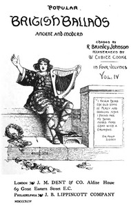 Cover of the book Popular British Ballads, Ancient and Modern, Vol. 4 (of 4) by Various