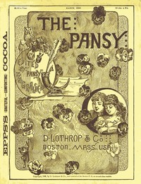 Cover of the book The Pansy Magazine, March 1886 by Pansy