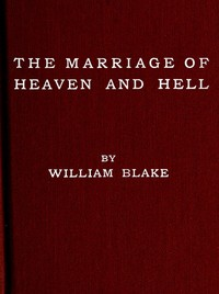 Cover of the book The Marriage of Heaven and Hell by William Blake