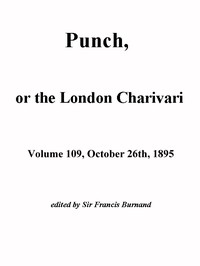 Cover of the book Punch, or the London Charivari, Vol. 109, October 26, 1895 by Various