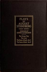 Cover of the book Plays—First Series by August Strindberg