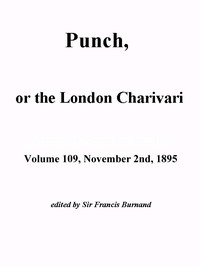 Cover of the book Punch, or the London Charivari, Vol. 109, November 2nd, 1895 by Various