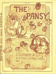 Cover of the book The Pansy Magazine, April 1886 by Various