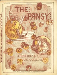 Cover of the book The Pansy Magazine, July 1886 by Various