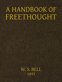 Cover of the book Handbook of Freethought by Various