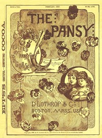 Cover of the book The Pansy Magazine, February 1886 by Various