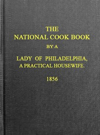 Cover of the book The National Cook Book, 9th ed. by Hannah Mary Peterson