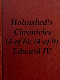Cover of the book Chronicles of England, Scotland and Ireland (3 of 6): England (4 of 9) by Raphael Holinshed