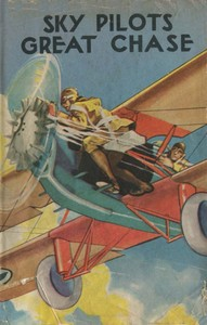 Cover of the book The Sky Pilot's Great Chase by Ambrose Newcomb