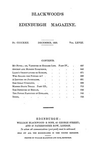 Cover of the book Blackwood's Edinburgh Magazine, Vol. 68, No 422, December 1850 by Various