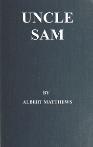 Cover of the book Uncle Sam by Albert Mathews